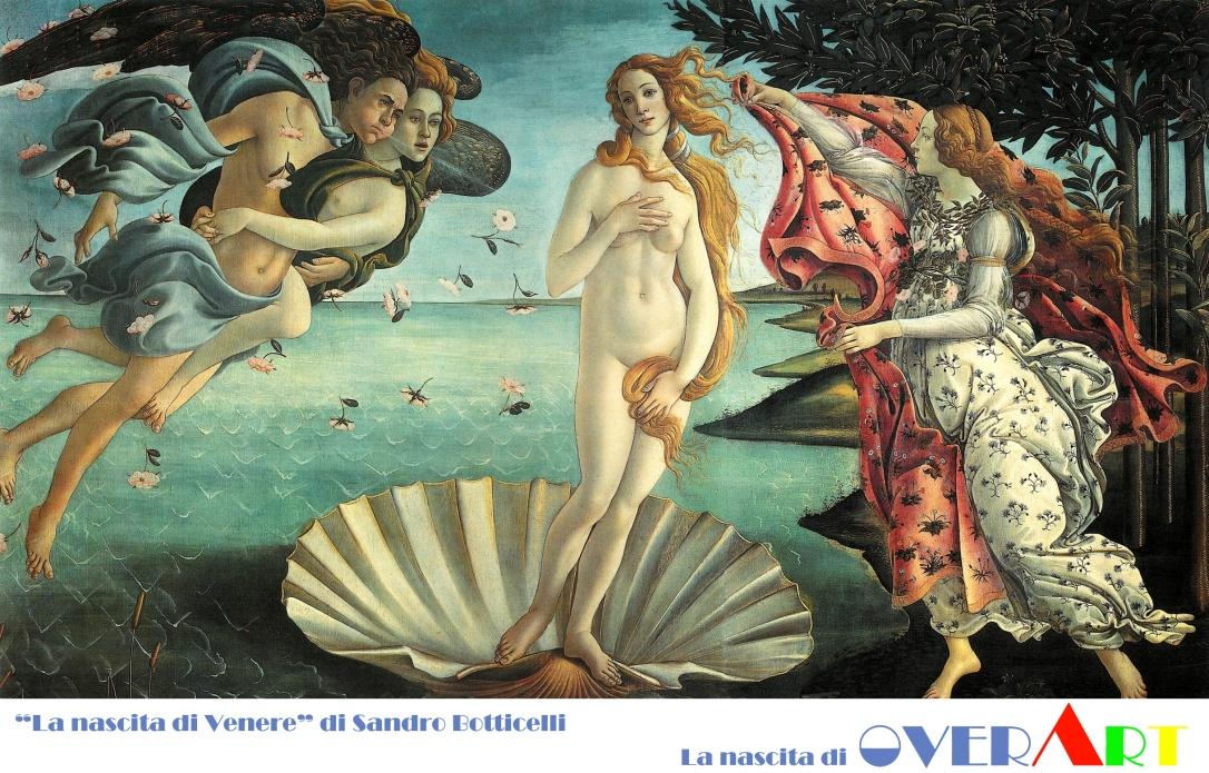 La-nascita-di-Venere-Botticelli Overart